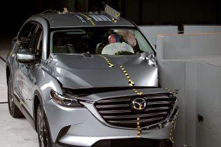 Mazda CX-9 получил высшую оценку в краш-тесте IIHS