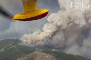 Португалія бореться з пожежею, яка вбила в смертельній пастці десятки людей
