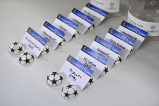 Состоялась жеребьевка 1 и 2 квалификационных раундов Лиги чемпионов