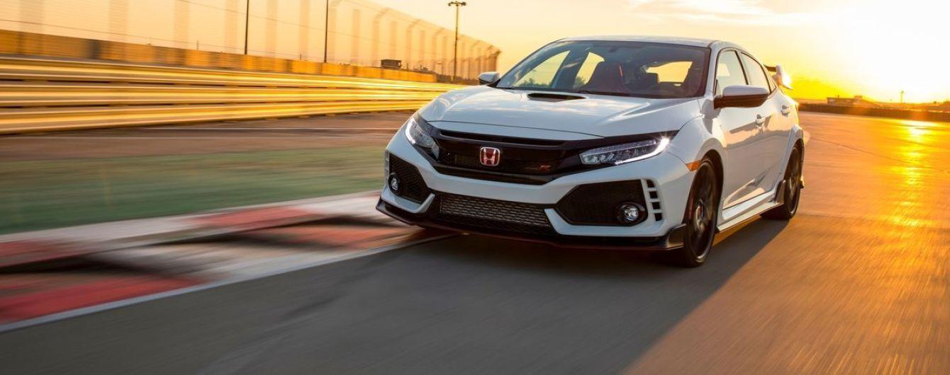 Honda Civic Type R получит менее мощный двигатель и полный привод
