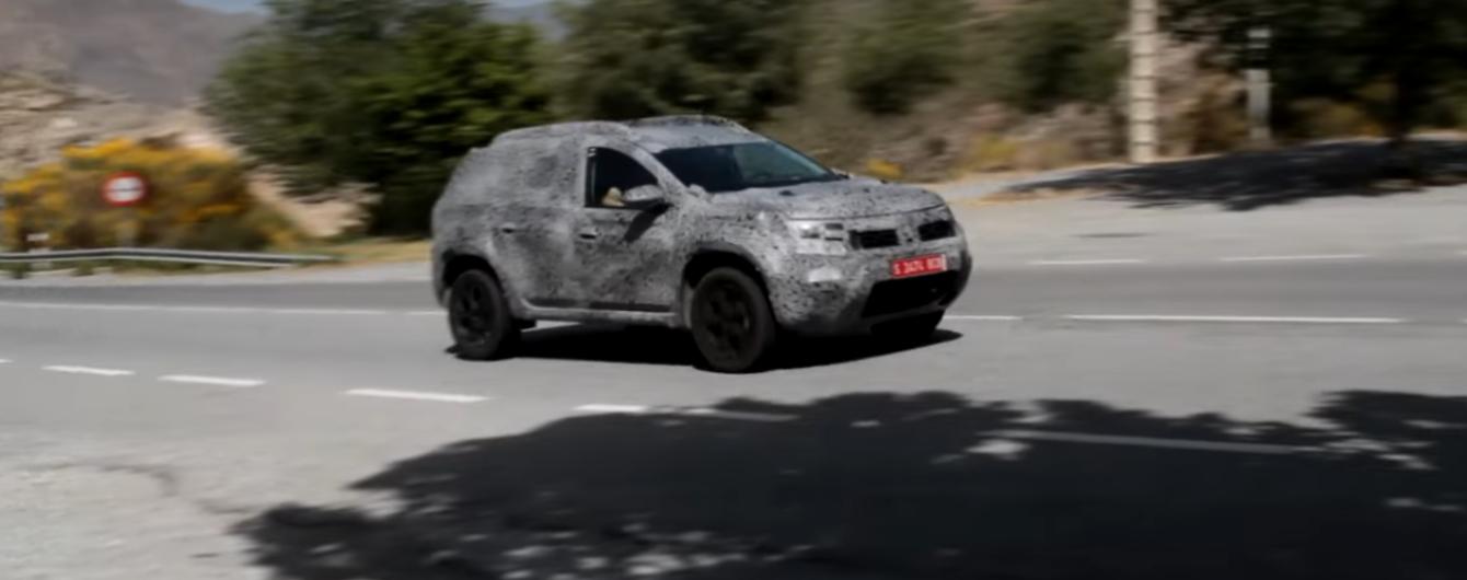 В Сети появился видеоролик нового Renault Duster