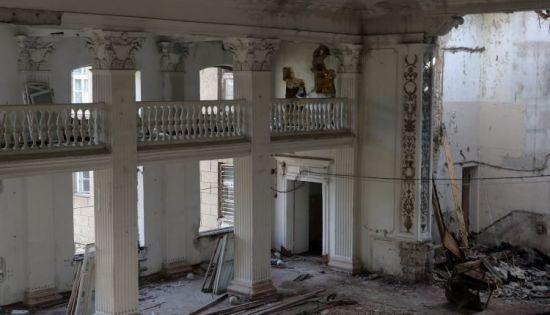 У Міноборони назвали попередню причину нічної пожежі у будівлі Військової академії в Одесі