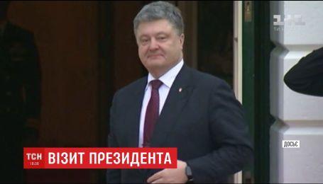 Порошенко встретится с украинской общиной в США