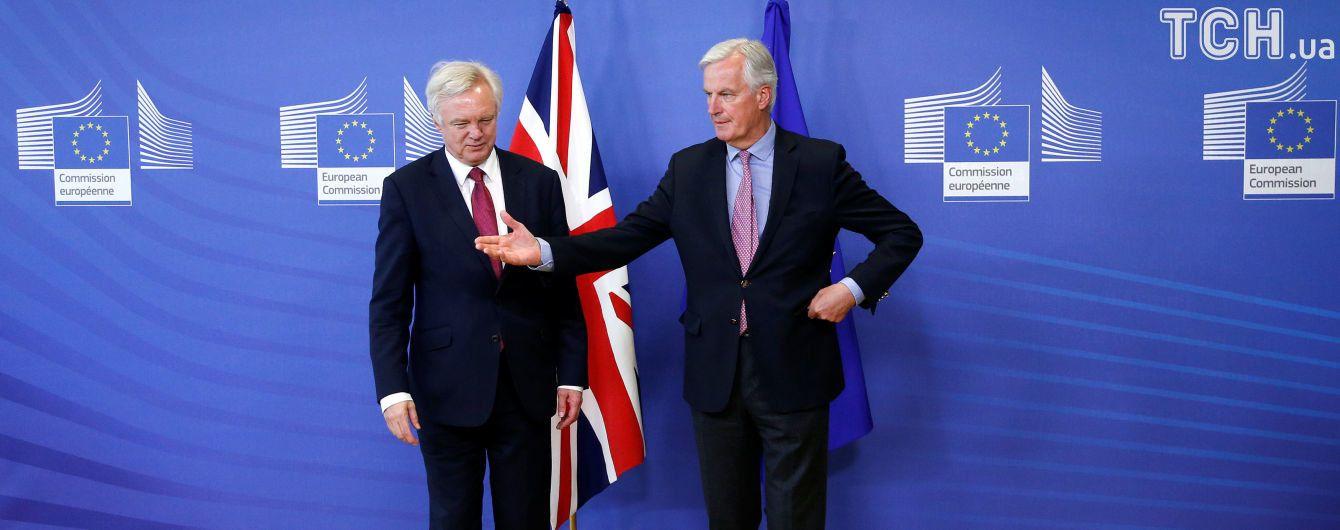 Великобритания и Евросоюз согласовали даты и приоритеты переговоров по Brexit