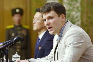 Помер американський студент, який із в'язниці у КНДР повернувся  у комі