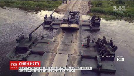 НАТО завершило переброску сил на восток