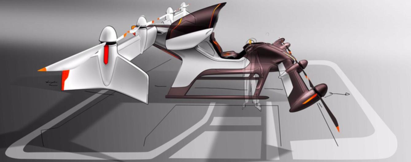 Airbus показал принцип работы летающего такси на видео