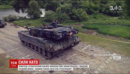 НАТО усилило военное присутствие на востоке в связи с российской агрессией