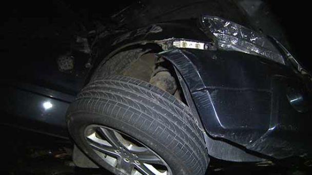 На Виннитчине внедорожник на скорости протаранил КамАЗ и перевернулся, погиб пассажир