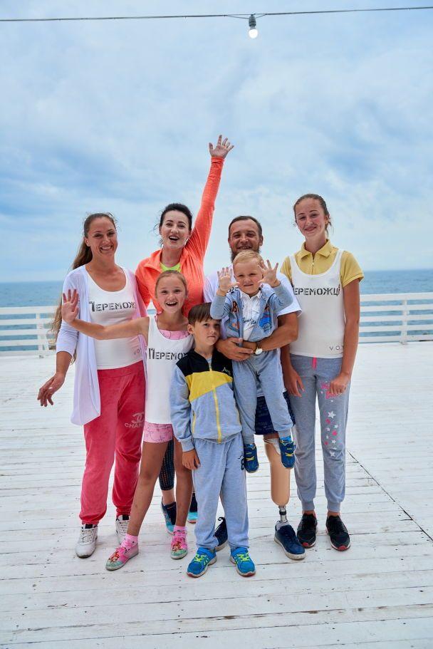 Спортивна Соломія Вітвіцька провела руханку на підтримку благодійного забігу в Одесі