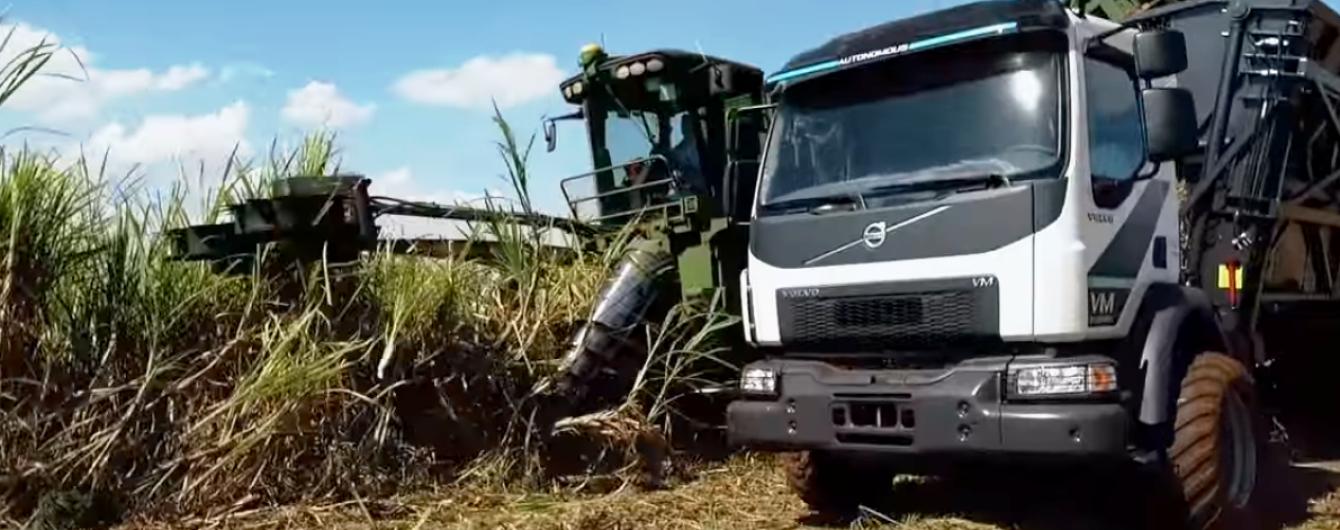 В Бразилии Volvo Trucks тестирует грузовик с автопилотом для фермеров