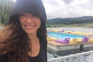 Неугомонная Руслана переплыла километровое озеро за 30 минут