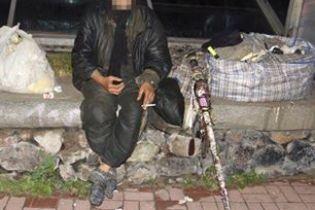 В центре Киева бомж забил до смерти своего товарища