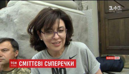 К голодовке Олега Березюка присоединилась вице-спикер ВР Оксана Сыроид