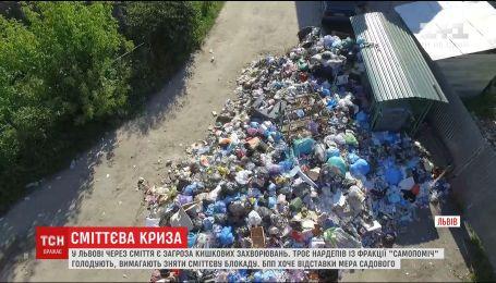 Серед завалів сміття у Львові вже розмножуються щури та гадюки