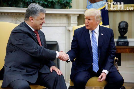 Порошенко доволен результатами встреч в Белом доме