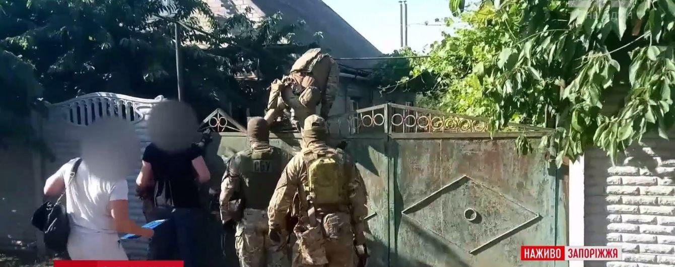 Обшуки в Мелітополі відбувалися за 15 адресами та пов'язані зі справою про державну зраду