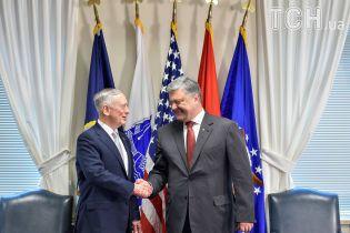 Дуже сильна зустріч: у Порошенка прокоментували спілкування президента України із главою Пентагону