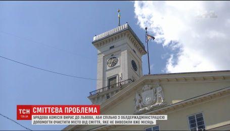 Правительственная комиссия отправится во Львов, чтобы помочь решить проблему утилизации мусора