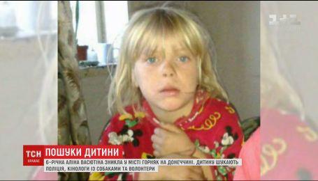 Волонтери просять допомогти у пошуках 6-річної дівчинки, яка зникла у містечку Горняк