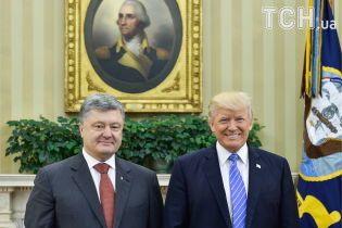 Тиха й коротка зустріч. Що писали іноЗМІ про переговори Порошенка й Трампа