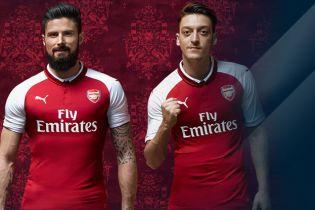 """Лондонський """"Арсенал"""" представив нову форму на наступний сезон"""