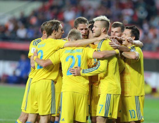 Україна втратила позиції у рейтингу ФІФА