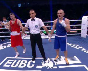 ЧЄ з боксу. Євген Барабанов - Парвіз Багіров. Відео бою