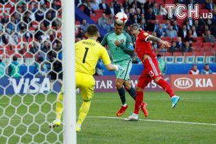 Роналду приніс Португалії перемогу над Росією в Кубку Конфедерацій