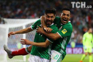 Мексика зробила камбек та обіграла Нову Зеландію на Кубку Конфедерацій