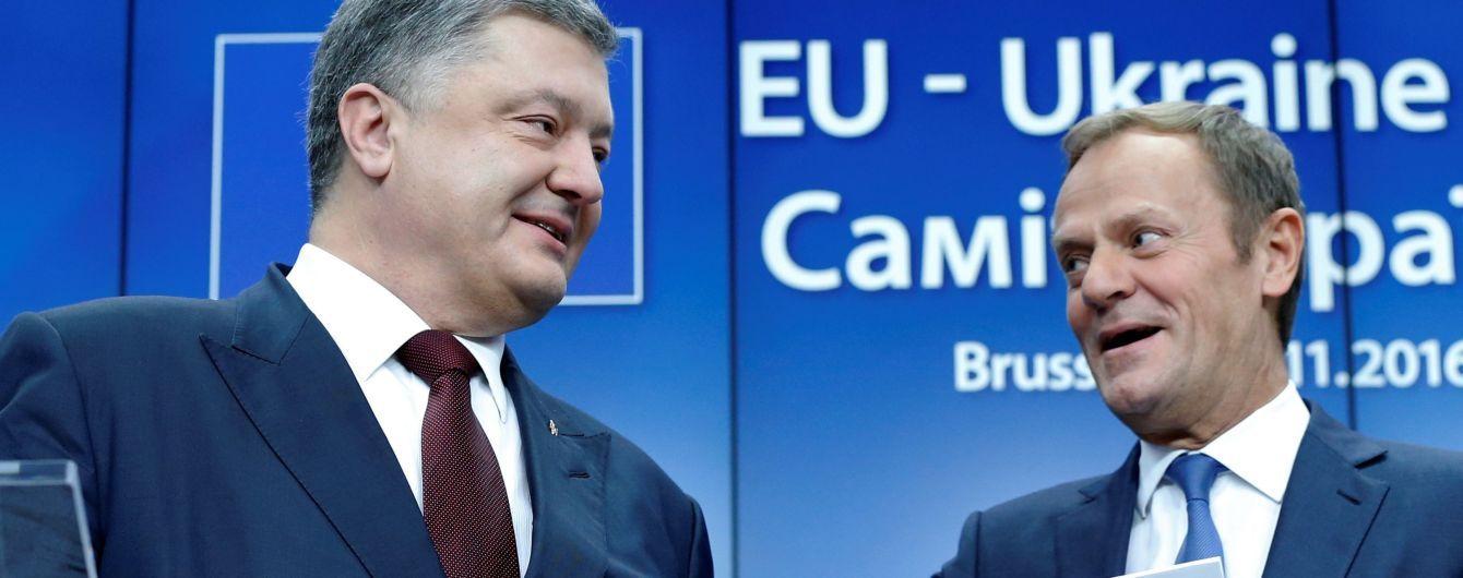 Європа не зацікавлена блокувати безвіз для українців – Туск