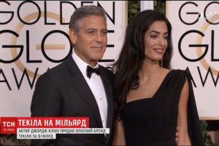 Джордж Клуні продав свою частку у компанії з виробництва текіли за мільярд доларів