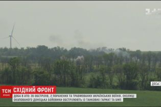 Бойовики не зважають на домовленість про введення режиму тиші з 24 червня