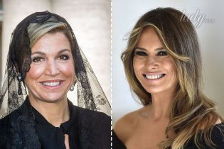 Битва черных нарядов: королева Максима vs Мелания Трамп