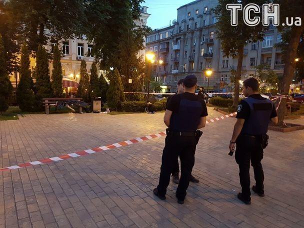 Вцентре столицы Украины зарезали мужчину