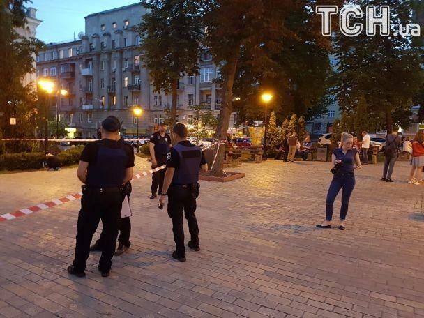 ВКиеве наЗолотых воротах ножом убили мужчину