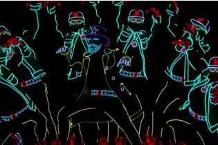 """Неонове безумство: український гурт вразив публіку на шоу """"Америка має талант"""""""