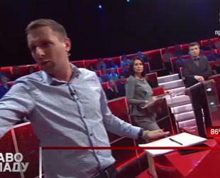 Парасюк у прямому ефірі написав «закон» щодо окупованого Донбасу