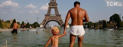 Європа задихається від екстремальної спеки