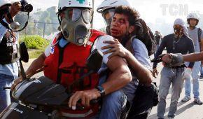 У Венесуелі війська впритул розстрілювали демонстрантів