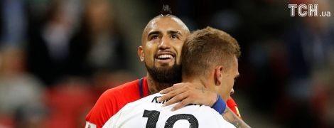 Германия спаслась от поражения в матче с Чили на Кубке Конфедераций