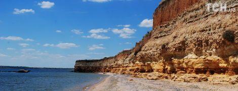 Остров Березань. Останки древнегреческого города-государства и руины крепости