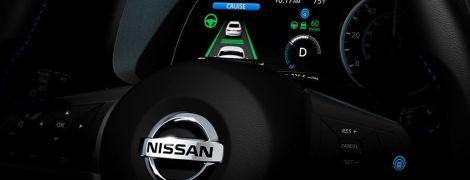 Nissan выпустил тизер нового Leaf