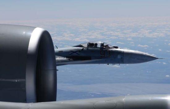 Російські Су-27 помічені біля кордонів НАТО