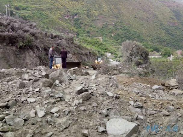 УКитаї стався зсув: понад 100 людей опинилися під завалами