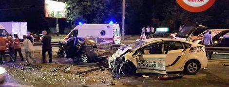 У Києві спіймали водія, який спровокував резонансну ДТП із поліцейським авто