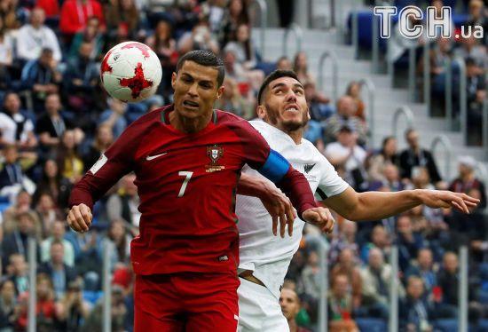 Португалія розгромила Нову Зеландію та вийшла до півфіналу Кубка Конфедерацій