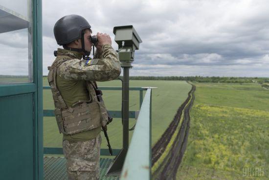 На Донбассе снайпер боевиков ранил украинского пограничника