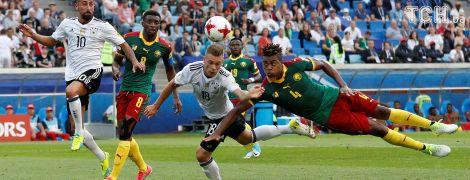 Німеччина обіграла Камерун та вийшла до півфіналу Кубка конфедерацій