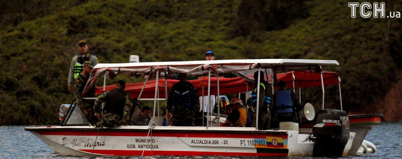 У Колумбії кількість жертв на затонулому судні зросла до дев'яти осіб